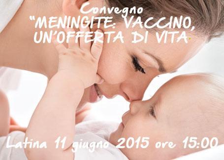 """CONVEGNO """"MENINGITE: VACCINO, UN'OFFERTA DI VITA"""""""